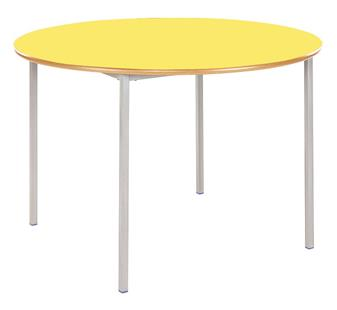 Fully Welded Circular Classroom Tables