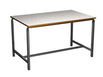 Crushed Bent H-Frame Art/Science/Craft/Laboratory Table