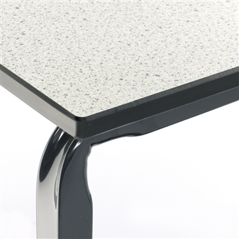 Trespa Laminate Top With Chamfered Edge