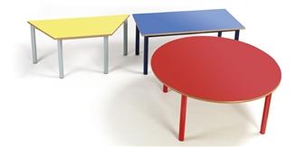 Premium Nursery Classroom Tables Rectangular, Circular & Trapezoid
