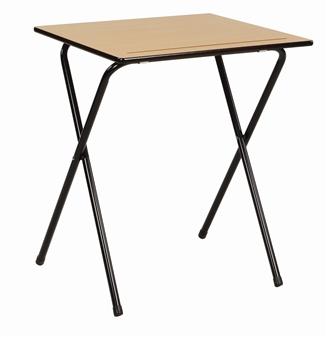 Wooden 4 Leg Folding Exam Table