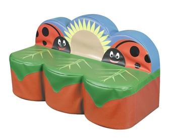 Ladybird 3-Seater Sofa