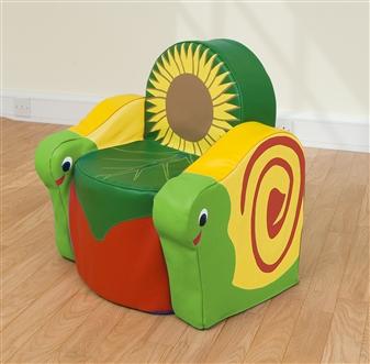 Snail Soft Seat Arm Chair