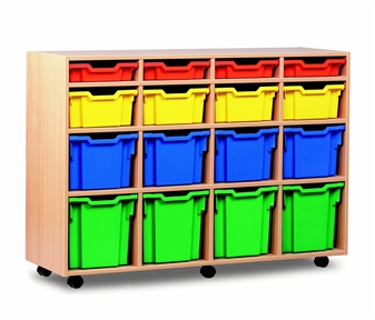Variety 16 Tray Storage Unit Mobile