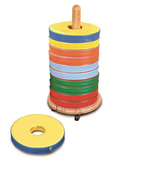 Donut Seat Trolley With 12 Donut Cushions