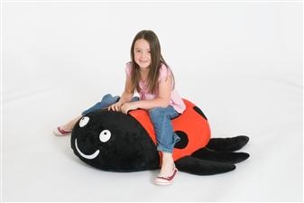 Dotty Ladybird Giant Floor Cushion