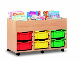 6 Bay Kinderbox 6 Deep Tray Unit