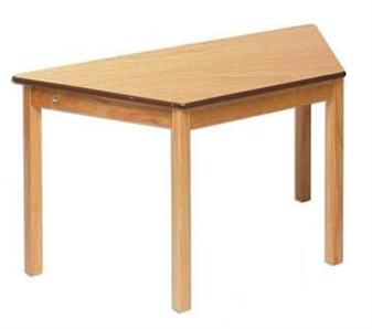 Beech Trapezoidal Classroom Table