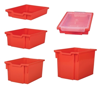 Gratnells Individual Plastic Trays - All Tray Sizes