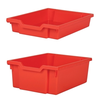 Gratnells Plastic Trays - Shallow Tray & Deep Tray