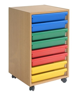 Mobile 8 A3 Art Tray Storage Unit