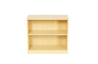 Beech 800 x 800mm Corner Bookcase