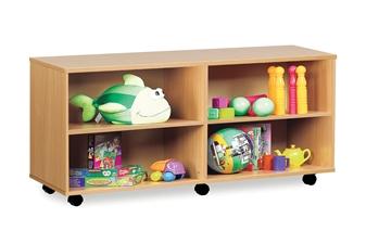 Combi Storage Unit - 4 Open Sections