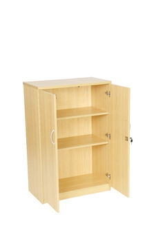 1200mm High Cupboard - Oak