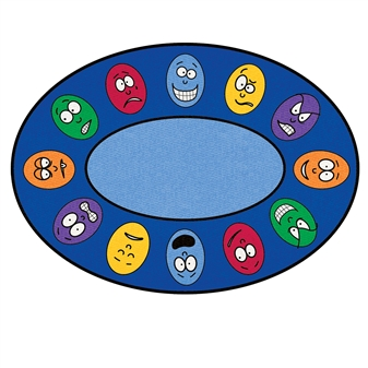 Oval Expression Rug