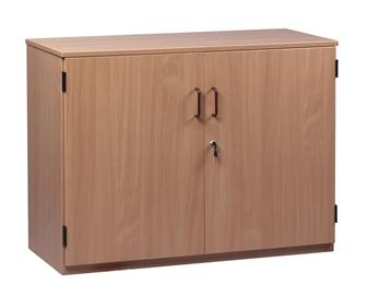 Lockable Wooden Storage Cupboard 768mm High