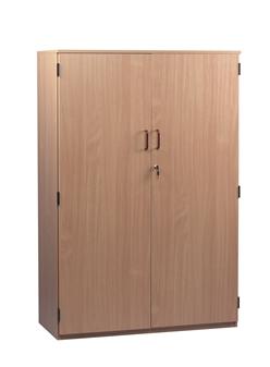 Lockable Wooden Storage Cupboard 1518mm High