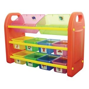 10 Bin Storage Organiser
