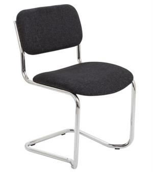 Cantilever Meeting / Conference Chair Blue Fabric