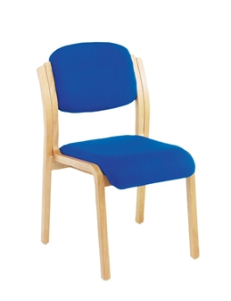 Woodframe Side Chair - No Arms