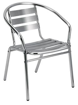 Aluminium Cafe / Recreational Armchair