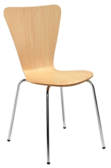Beech Wooden Cafe / Bistro Chair
