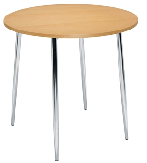 Beech 4 Leg Cafe / Bistro Table