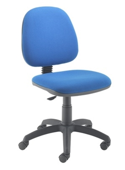 Value Medium Back Operator Chair shown With Arms