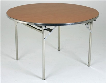 Large 6ft Diameter Heavy-Duty Lightweight Circular Folding Table