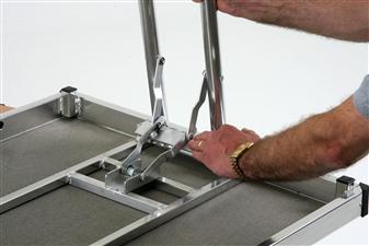 Safe Spring Loaded Leg Mechanism