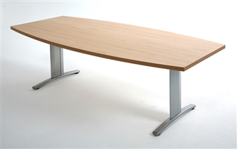 Boat Shape Folding Meeting Table