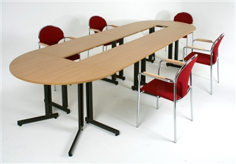 Rectangular & Semi-Circular Folding Training Tables