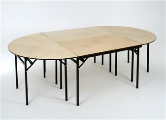 Folding Banquet Tables - Rectangular & Semi-Circular