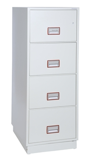 4-Drawer Fireproof Filing Cabinet