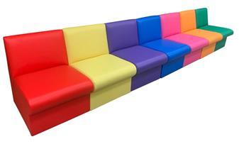 BRS/R Modular Box Reception Sofa Seat - Right Arm