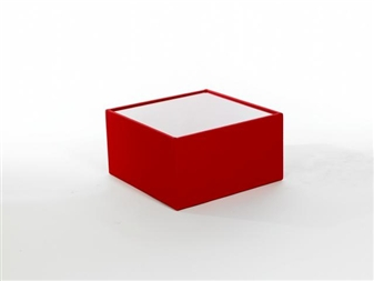 BTS Modular Box Reception Coffee Table With Glass Top