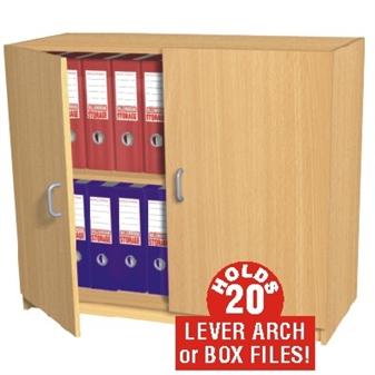 20 Box File Storage Cupboard (Static)