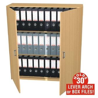 30 Box File Storage Cupboard (Static)