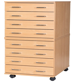 A2 Mobile 8 Drawer Plans Chest