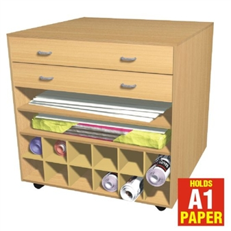 All-In-One Poster/Flat Media Storage Unit