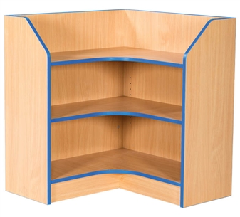 3ft Corner Bookcase