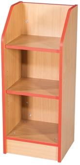 2.5ft Slimline Bookcase
