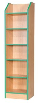 6ft Slimline Bookcase