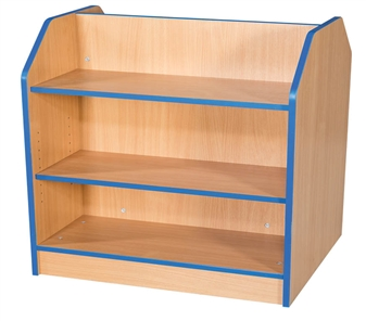 2.5ft Double Sided Bookcase