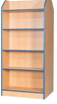 6ft Double Sided Bookcase