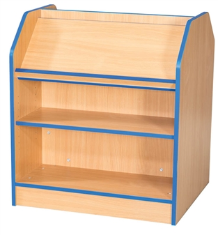 3ft Double Sided Display Bookcase