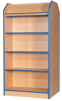 4ft Double Sided Display Bookcase