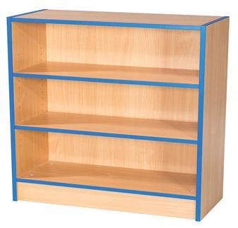 3ft Flat Top Bookcase