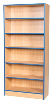 6ft Flat Top Bookcase