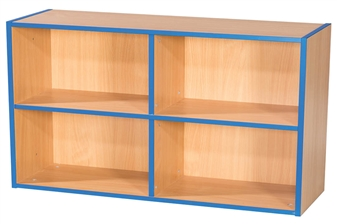 Two Tier 2+2 Shelf Unit